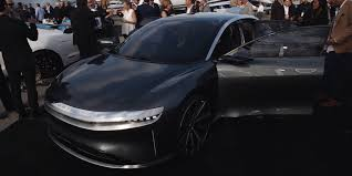 Lucid Motors shows new Air electric ...