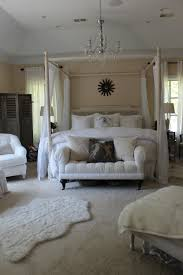 ideas white bed bench wooden bedroom