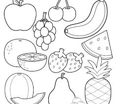 Coloring Pages Food Food Coloring Pages Healthy Foods Coloring Pages