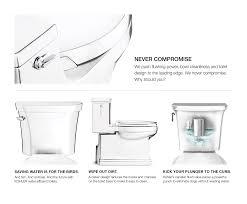 kohler skirted toilet benefits