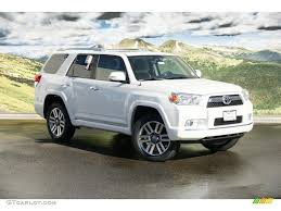 2011 Blizzard White Pearl Toyota 4Runner Limited 4x4 #45688822 ...