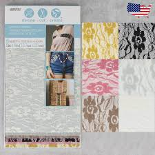 Create Your Own Iron On Design Details About See Through Lace Iron On Fabric Design Cut Create 6 Sheets