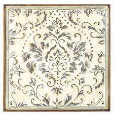 distressed cream damask metal wall decor on iron wall decor hobby lobby with distressed cream damask metal wall decor hobby lobby 1462639