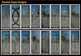 custom glass door designs