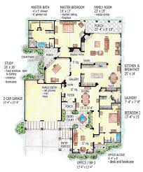 florida house plans. Florida Mediterranean Southern House Plan 56544 Level One Plans