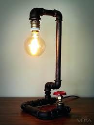 black pipe lamp rustic water pipe vintage lamp black pipe lamp parts