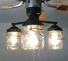 mason jar light kits mason jar ceiling fan this will be in my house post renovation mason jar light kits
