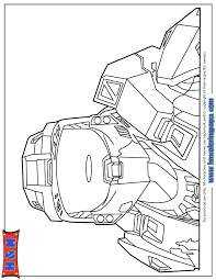 Small Picture Master Chief Character From Halo Game Coloring Page H M