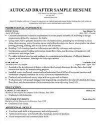 Sample Autocad Drafter Resume Sample Resume Autocad Draftsman Resume Autocad Drafter