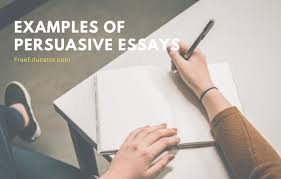 best exles of persuasive essays