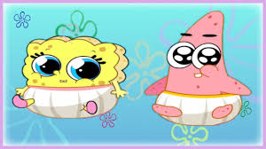 Spongebob And Patrick Babies - Care And Dress Up Game For Little ...