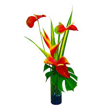 kalapana tropical hawaiian flowers bouquet