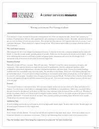 Resume For Nursing Student About To Graduate New Nurse Graduate