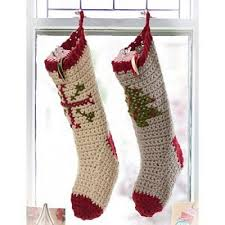 Crochet Stocking Pattern Interesting Free Crochet Christmas Stocking Patterns Crochetville