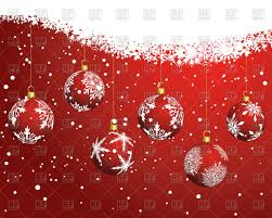 red christmas snowflake backgrounds. Brilliant Christmas Red Christmas Background With Balls And Snowflakes Vector Image U2013  Artwork Of Backgrounds Textures Click To Zoom In Snowflake Backgrounds