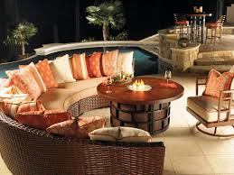 image of patio furniture firepit