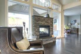 2 sided fireplace two sided fireplace indoor outdoor gorgeous double sided fireplace design ideas take a