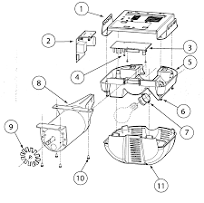 Ponent garage door opener circuit diagram motor assy parts list for model isd1000 genie remote