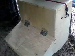 diy hog feeder two door gravity fed continuous