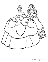 Coloriage Robe Princesse L