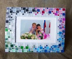 Picture Frames Design:Blue Decorating Picture Frames Simple Colorful  Decoration Ideas Motive Adjustable Clsasic Turorial