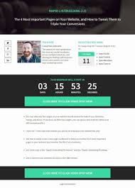Webinar Design Creative Webinar Landing Page Free Template Best Landing