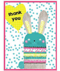 Thank You Easter Cinnamon Aitch Easter Thank You Cards