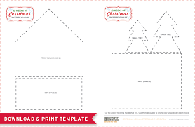 Gingerbread House Patterns Delectable Free Printables Gingerbread House Template And A Delicious Recipe