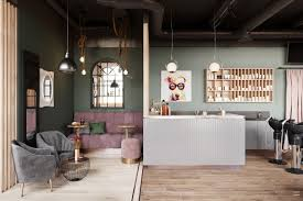 beauty salon lighting. A Beauty Salon In St. Petersburg With Industrial Lighting Design