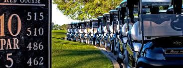golf cart line up