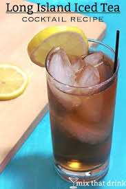 the long island iced tea drink recipe features cola all the white liquors and some