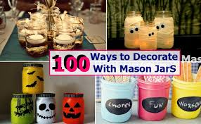 How To Decorate A Jar 60 Ways to Decorate With Mason Jars Home So Good 37