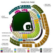 Marlins Stadium Seating Chart Minnesota Twins At Miami Marlins Tickets 7 30 2019 Vivid