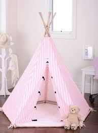 New Kids Childrens Play House Indoor Pink Tent Teepee Teepees Tipi Fort in  Toys, Hobbies, Outdoor Toys, Play Tents