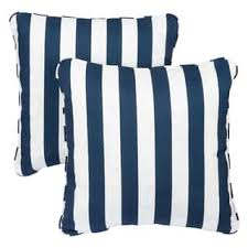 Navy Outdoor Cushions & Pillows For Less