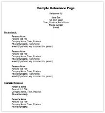 Resume References Format Stunning Proper Reference Format For Resume Kenicandlecomfortzone