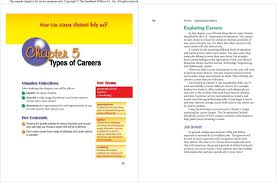 16 Career Clusters Chart Chapter 5 Key Concepts This Sample Chapter Is For Review