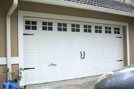 decorative garage door trim ideas large size of inside kits idea 11