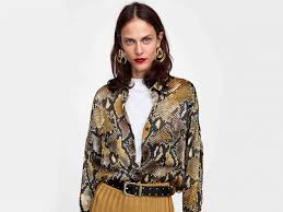 <b>Snake print</b> has taken over leopard as this season's must-have trend ...