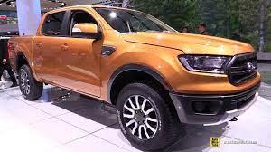 2019 Ford Ranger Lariat Exterior And Interior Walkaround 2018 Detroit Auto Show
