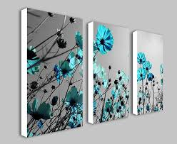 combination teal canvas wall art multi panel simple great pinterest blue flower personalized abstracts on canvas wall art blue flowers with wall art design ideas combination teal canvas wall art multi panel