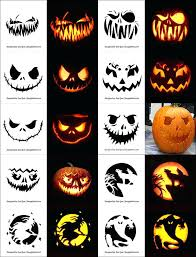 Scary Pumpkin Carving Patterns Fascinating Free Scary Pumpkin Carving Patterns Stencils Ideas Printable