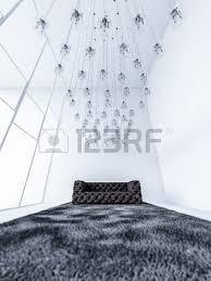Soffitto In Legno Grigio : Ds rendering interno bianco soffitto alto soggiorno che hanno un