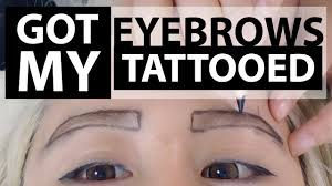 Eyebrow Tattoo Before And After Everything You Need To Know 3d Korean Eyebrow Tattoo Temporary
