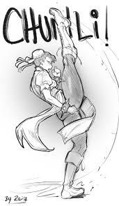 Chun Li Kicks By Reiq
