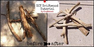 diy driftwood tutorial