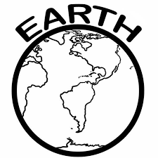 Small Picture Earth Coloring Pages A Healthy Pla On Earth Day Coloring Page