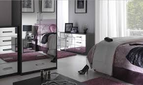Mirrored Bedroom Furniture Black Mirrored Bedroom Furniture For