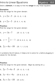y x 7 d 0 y x 3 intro to linear equations