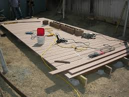 free standing deck plans how to build a floating deck how tos diy